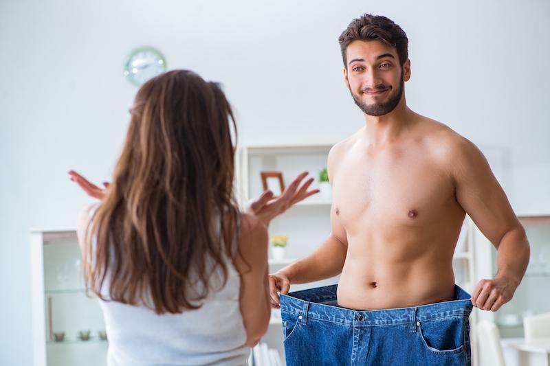 homme perte de poids