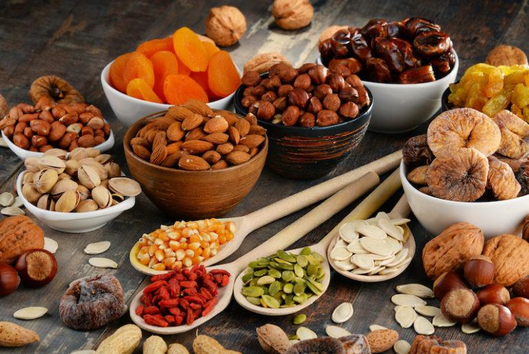comment prendre du poids grace aux fruits secs