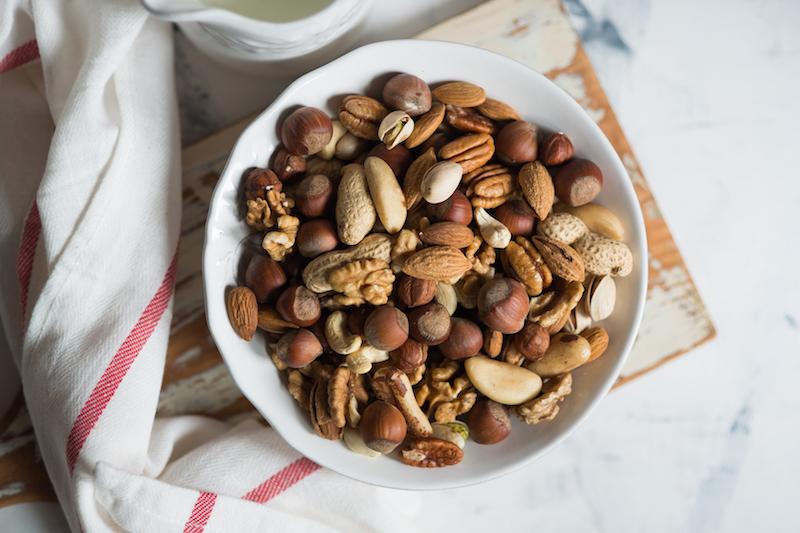 les fruits à coque peuvent aider à la prise de poids