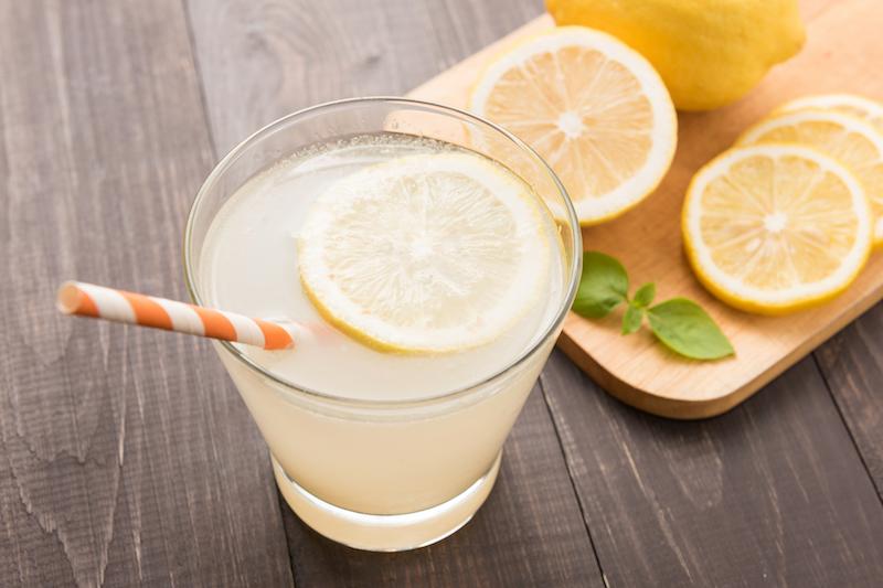 eau de citron detox régime perte de poids