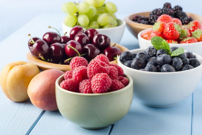 8 fruits de saison les moins caloriques