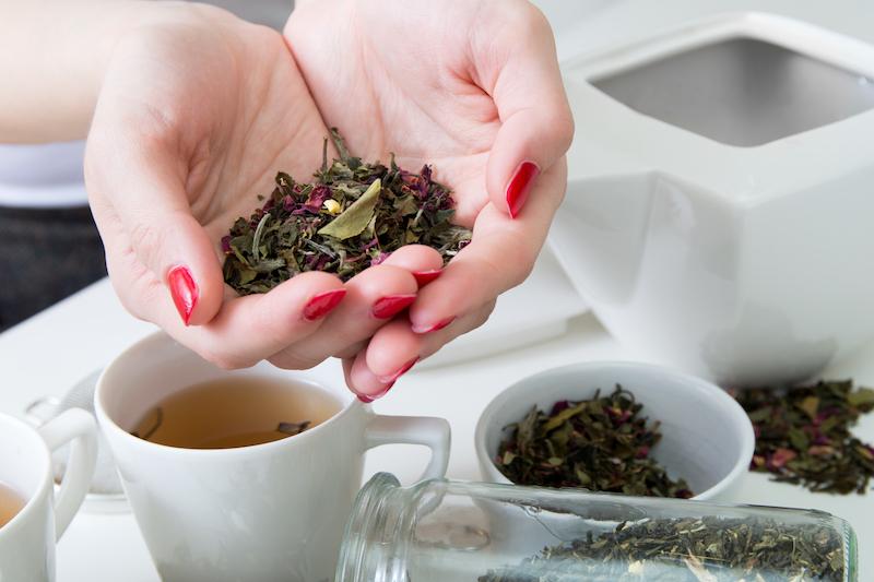 choisir son thé vert pour maigrir du ventre