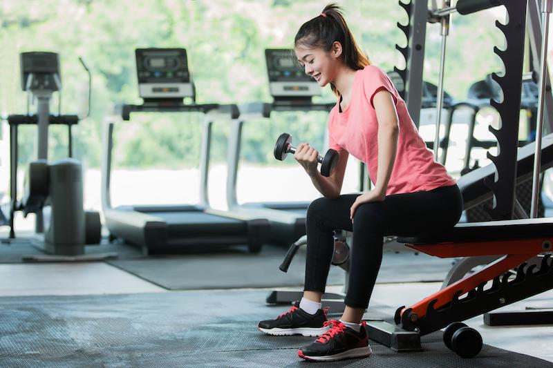 faire du sport pour grossir