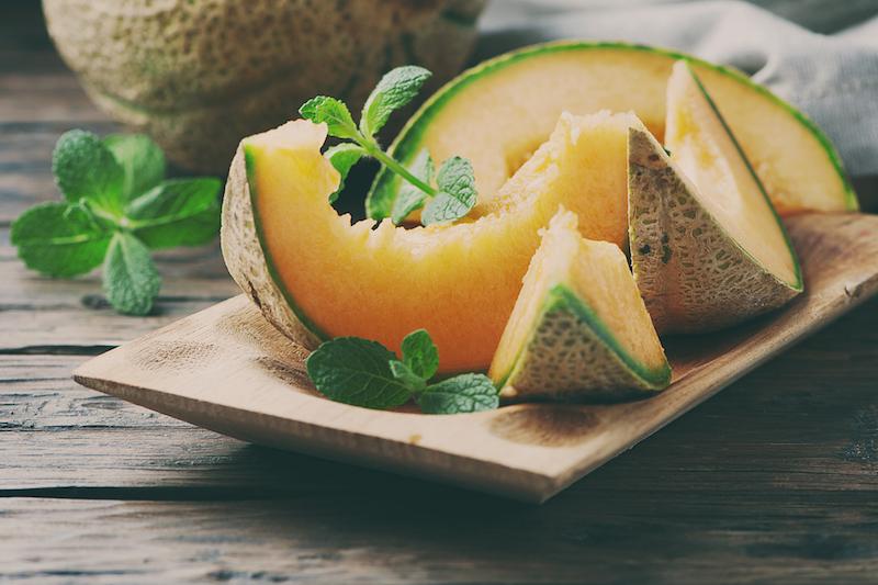 le melon, un fruit peu calorique