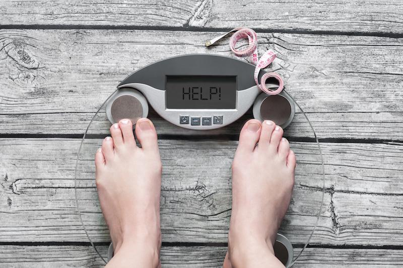 J'essaie de perdre du poids
