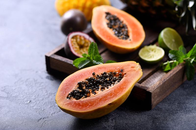 la papaye est un aliment pour avoir un ventre plat