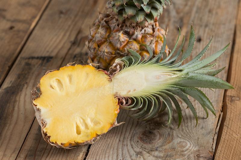 l'ananas brûle la graisse du ventre