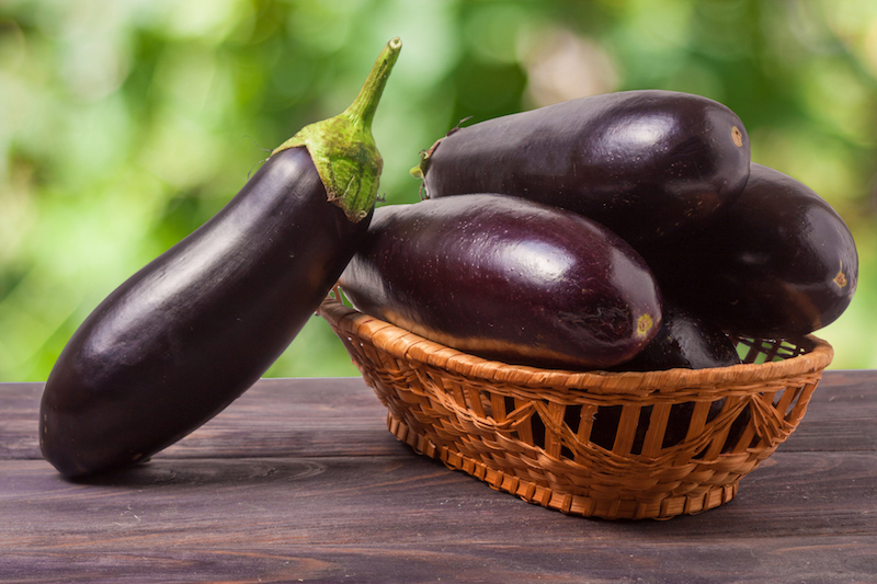 l'aubergine aide à perdre du ventre