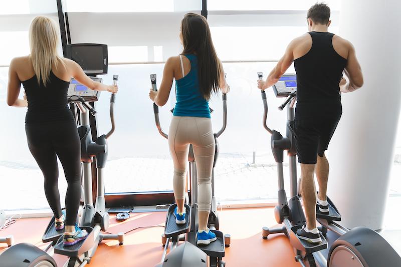 perdre du poids sur le vélo elliptique