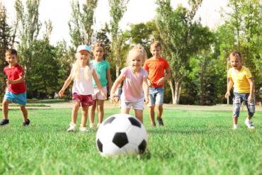 Enfants qui font du sport