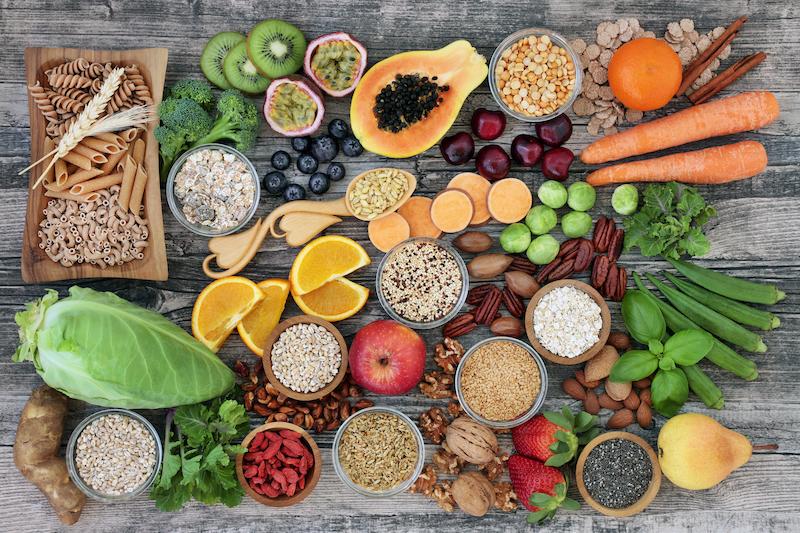 les aliments riches en fibres alimentaires