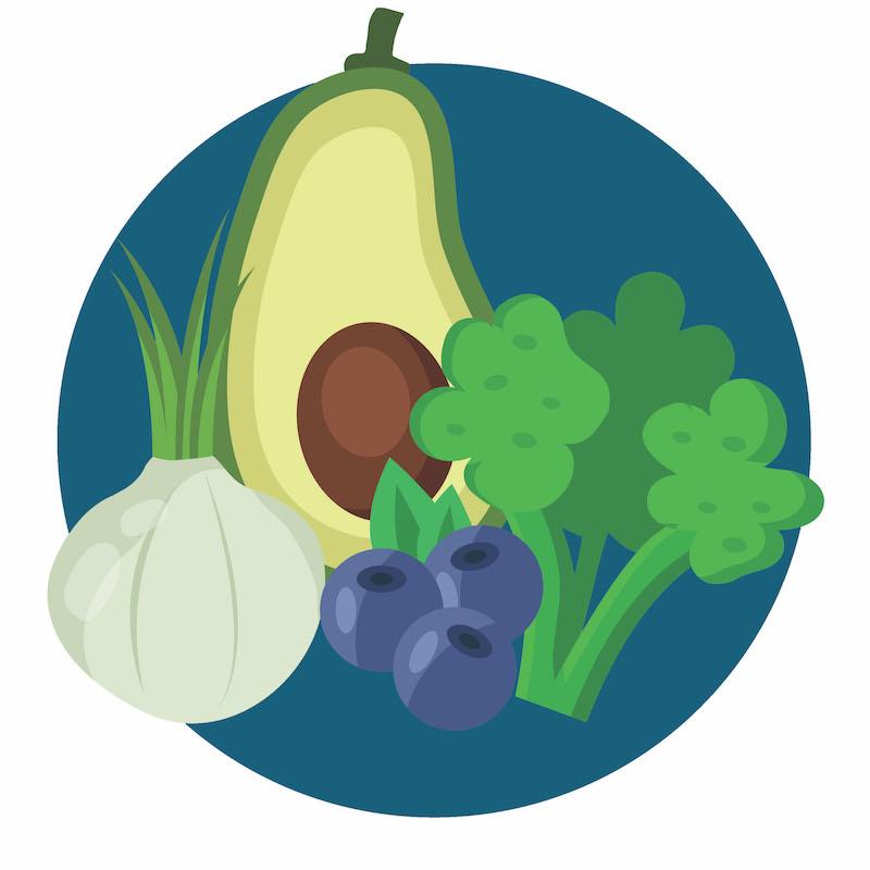 manger des légumes pour prévenir de l'obésité