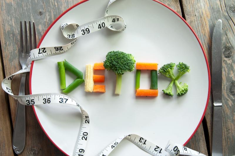 perdre du poids regime detox