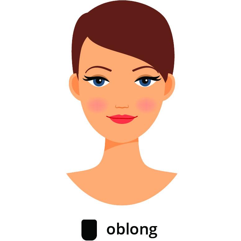 visage oblong