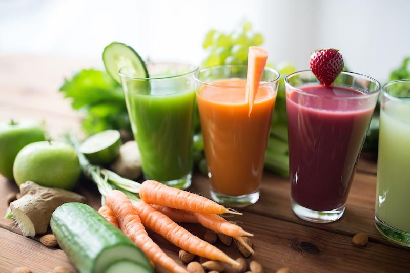 le jus de légumes peut couper la faim