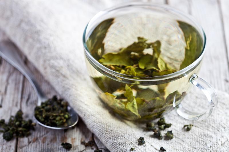 thé vert, un puissant aliment coupe faim