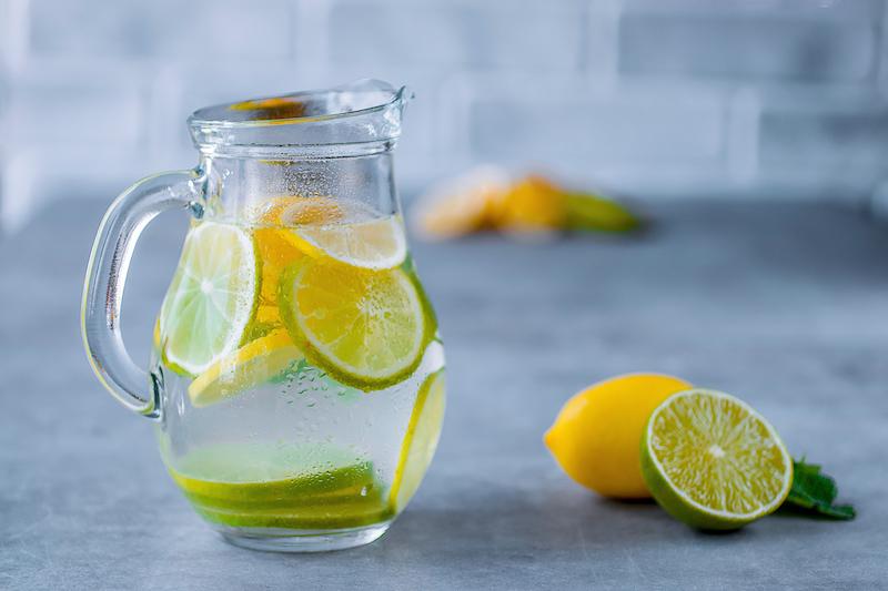 combien de citron ajouter à l eau pour la perte de poids