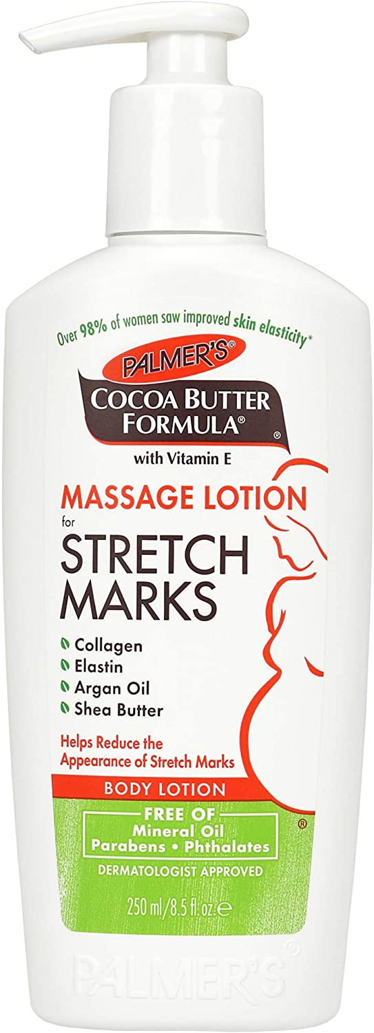 lotion massage vergetures palmers